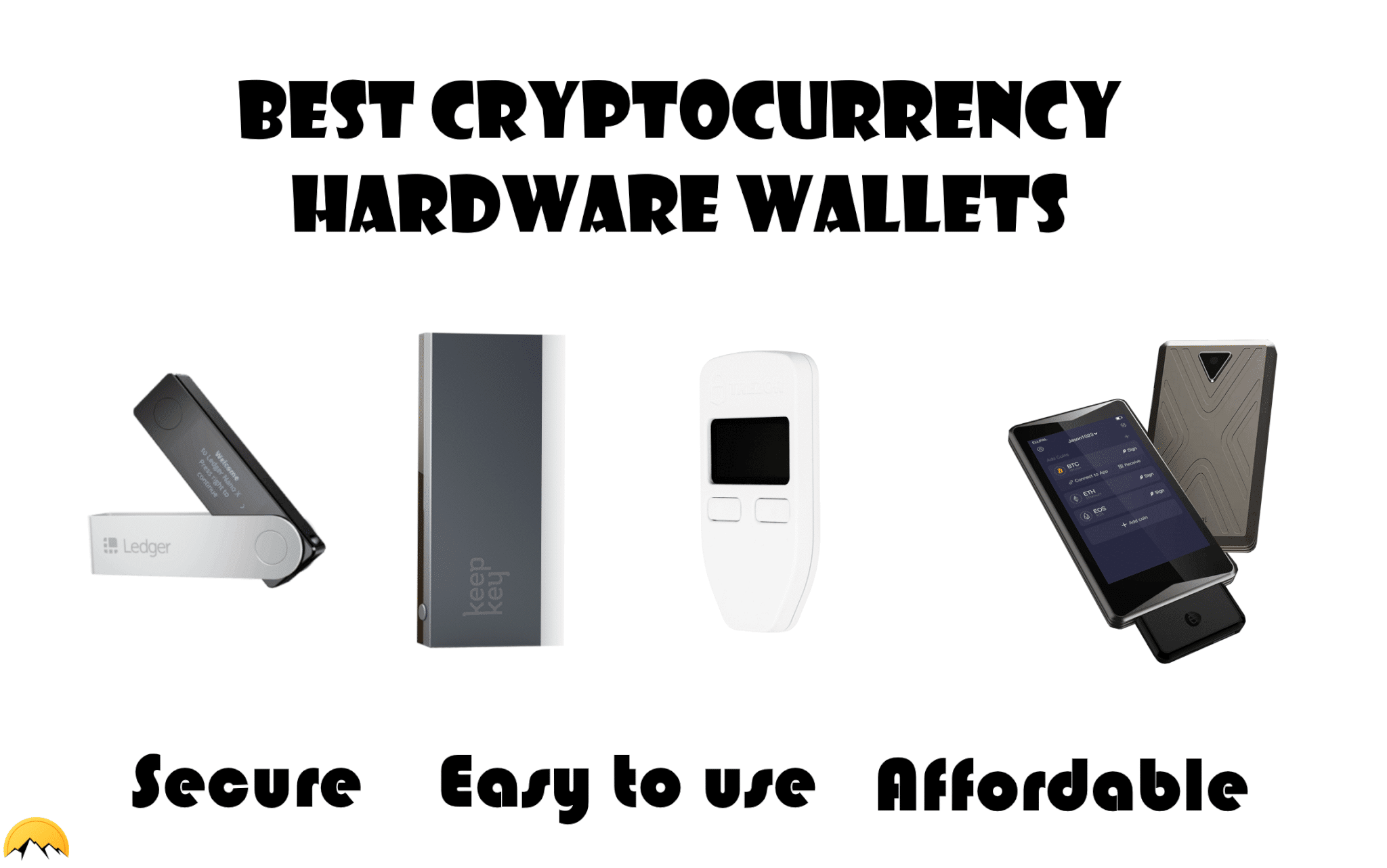 cryptocurrency hardware wallet device