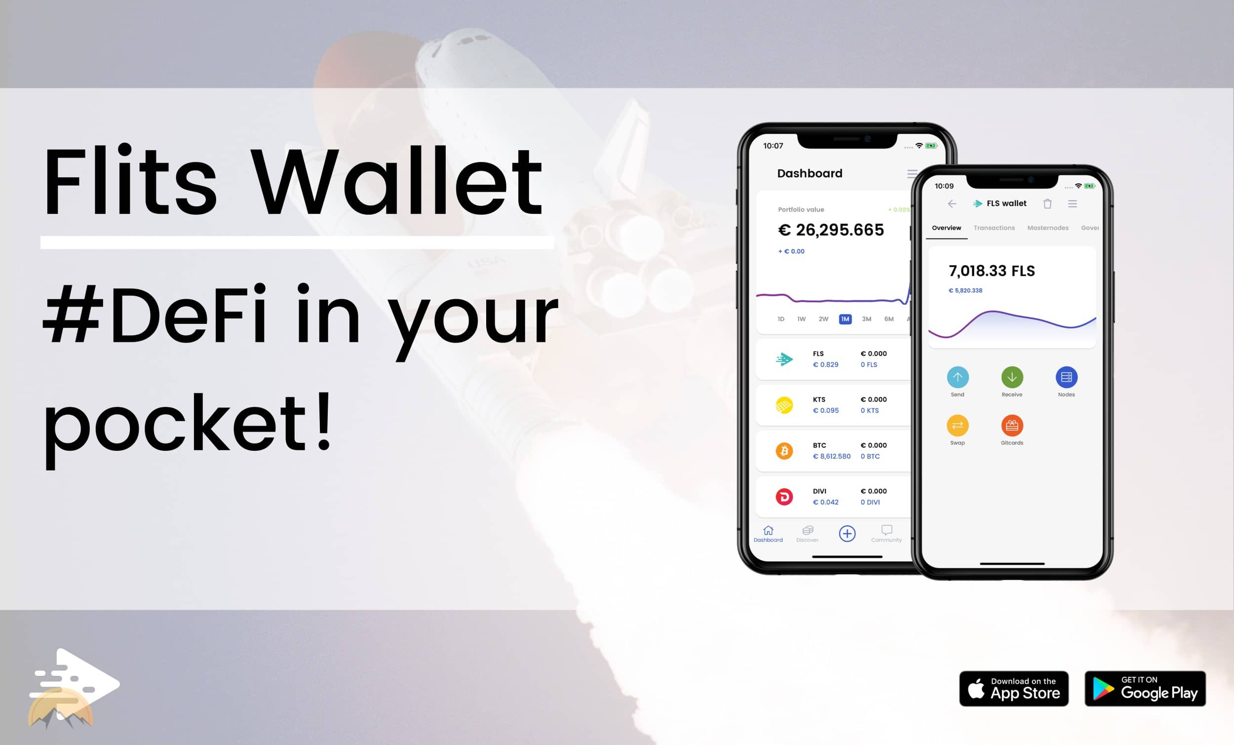 flits crypto wallet allows cryptocurrency users to host decentralized masternodes and cold staking