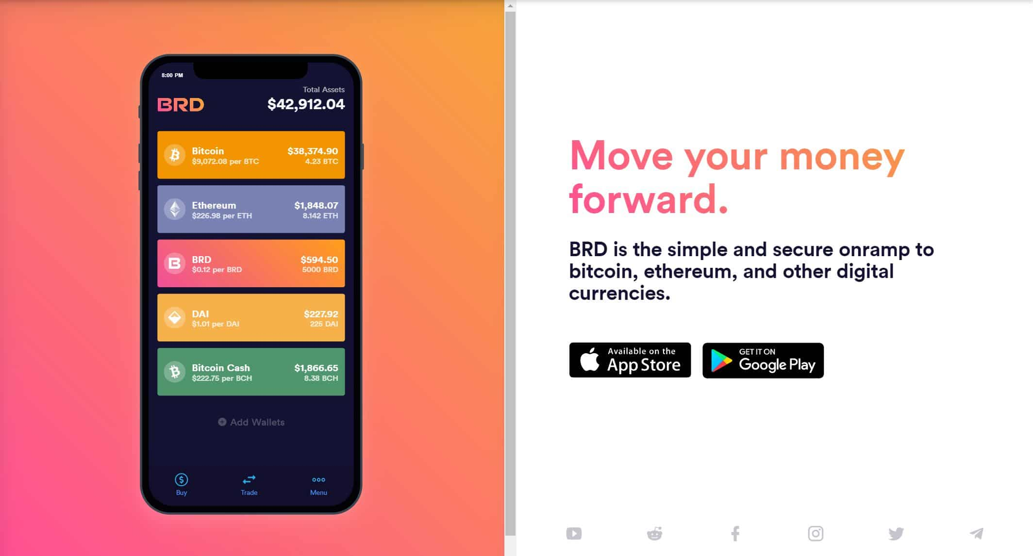 bread wallet is one of the most popular bitcoin mobile wallet