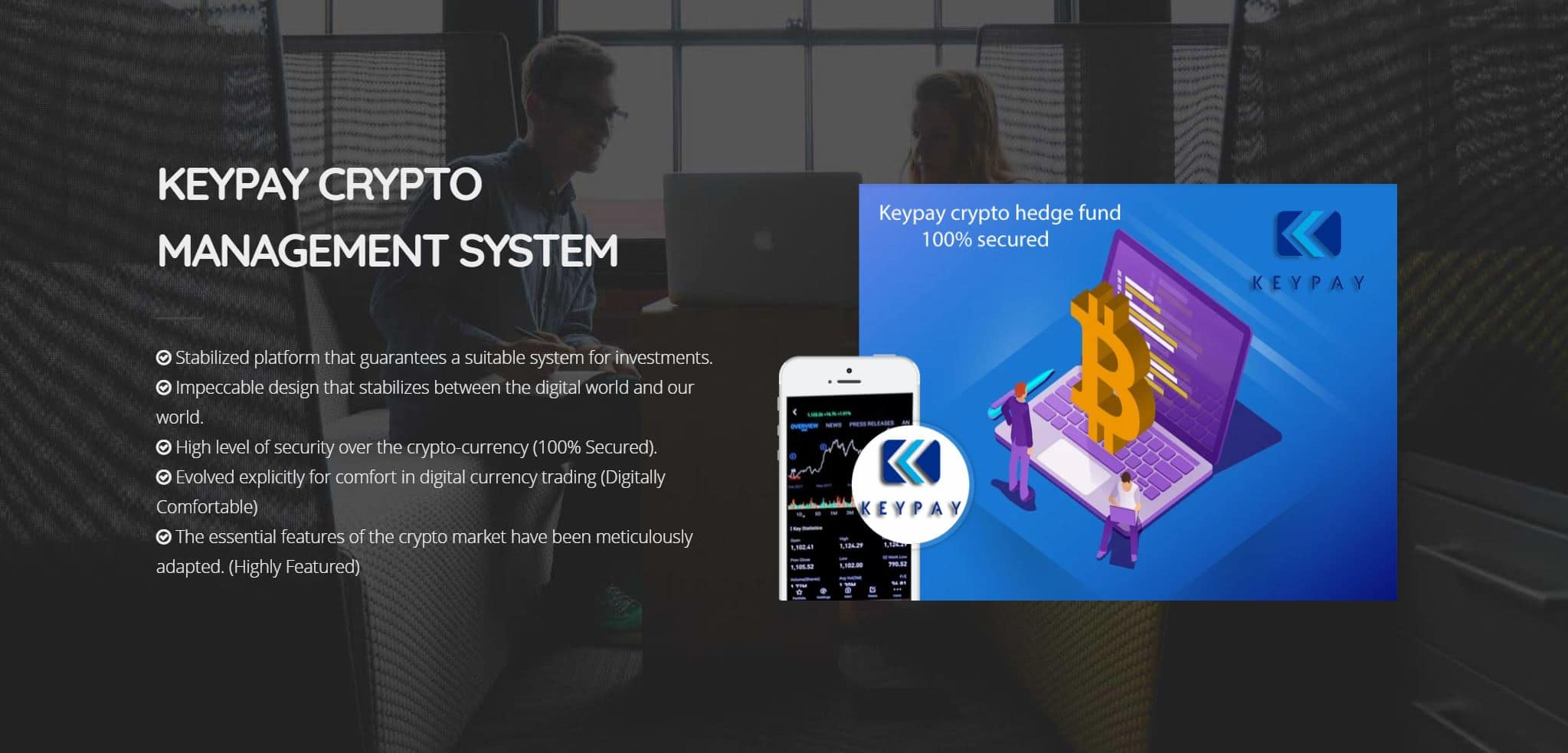 keepkey hedge funds investment