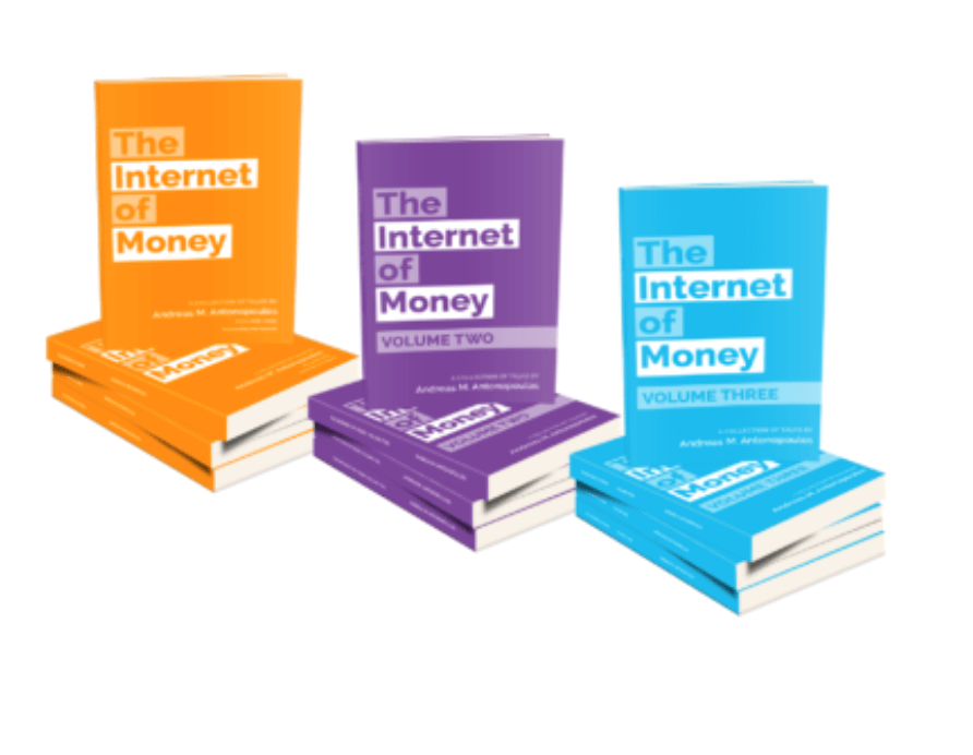thei nternet of money is yet another book written by the bitcoin advocate andreas andreopoulos