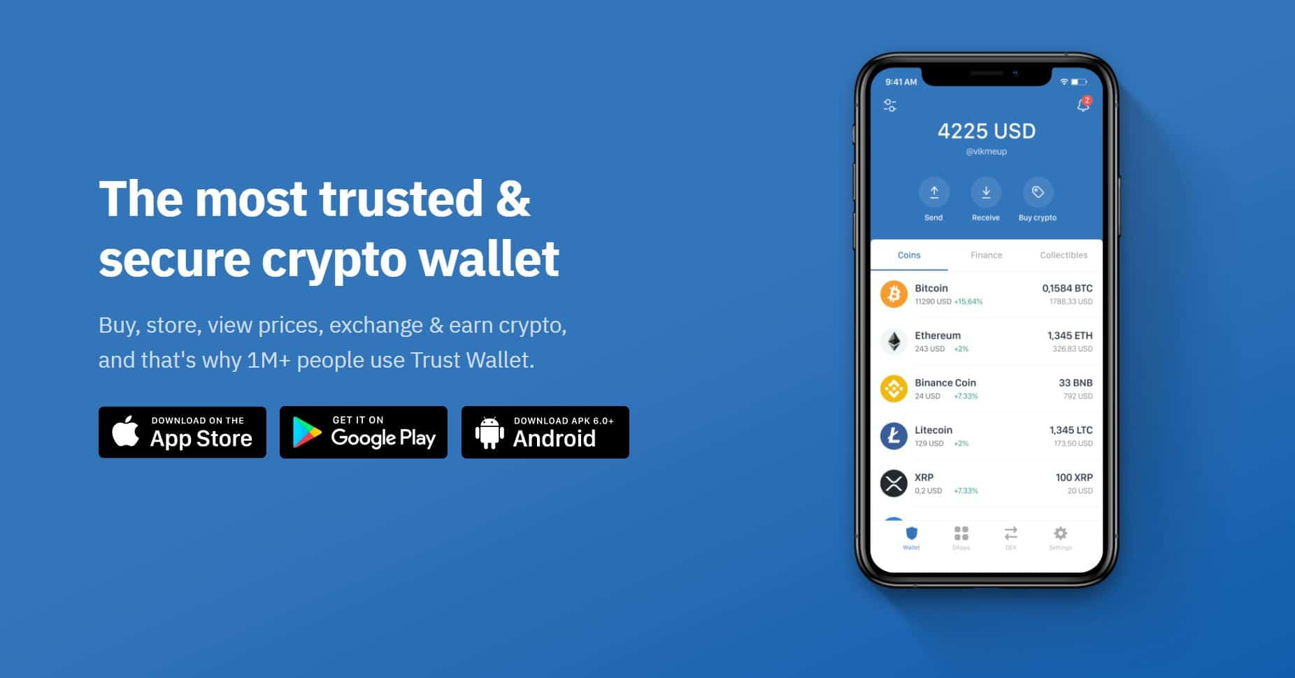 trust wallet is one of the most popular cryptocurrency wallets that allways crypto staking